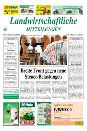 Landwirtschaftliche MitteiLungen - Landeskammer für Land- und ...