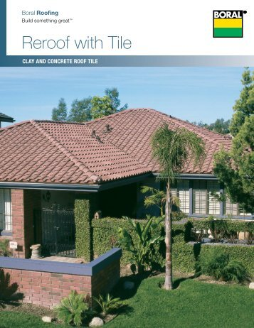 Reroof with Tile