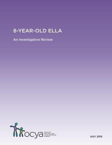 8-YEAR-OLD ELLA