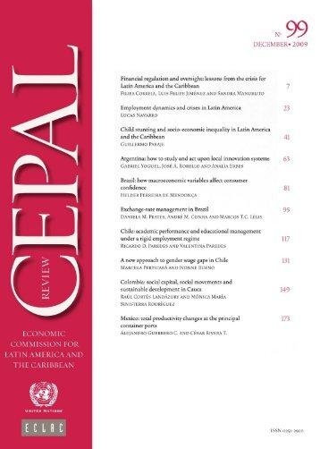CEPAL Review Nº99