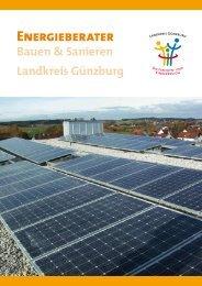 energieberatung im landkreis Günzburg - Inixmedia