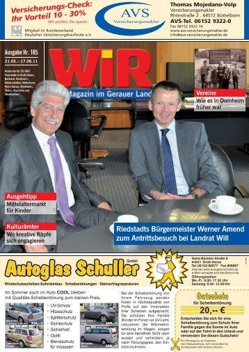Groß - Das WIR-Magazin im Gerauer Land