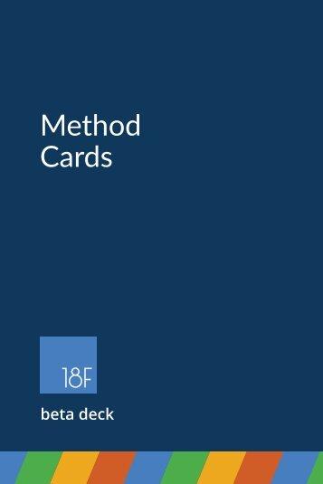 Method Cards