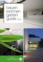 bauen wohnen garten guide 2011 - Die Oberösterreicherin