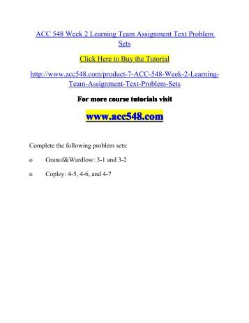acc548 week 5 reporting requirements memo Acc 548 complete course acc 548 week 5 learning team assignment reporting requirements memo to buy this material click below link  .