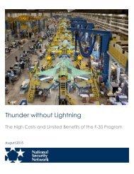 Thunder without Lightning