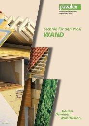 PAVATEX DIFFUTHERM - Verarbeitung - Holz Ahmerkamp