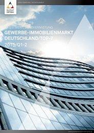 GPP INVESTMENT/BÜROVERMIETUNG GEWERBE-IMMOBILIENMARKT DEUTSCHLAND 2015/Q1-2