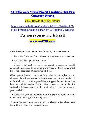 final week project 9