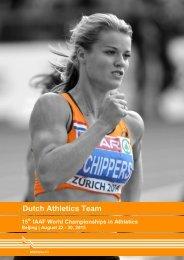 Dutch Athletics Team