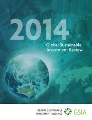 2014 Global Sustainable Investment Review