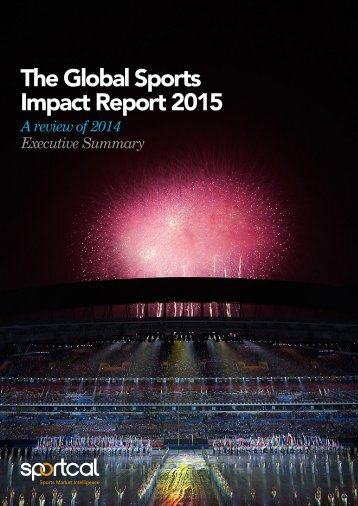 The Global Sports Impact Report 2015