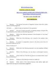 BUS 434 Week 4 Quiz/uophelp