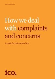 How we deal with complaints and concerns