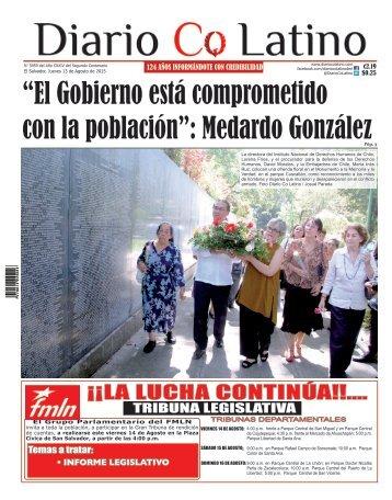 Edición 13 de Agosto de 2015