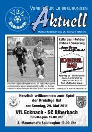 VfLAktuell_15_10/11 - VfL Ecknach