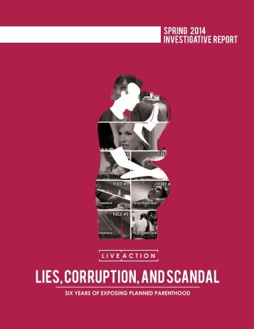 LIES CORRUPTION AND SCANDAL