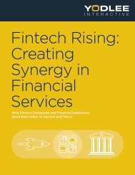 Fintech Rising Creating Synergy in Financial Services