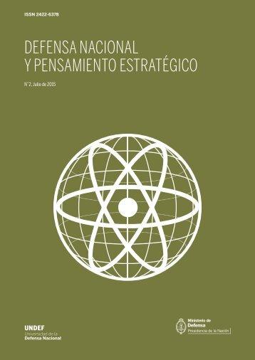 DEFENSA NACIONAL Y PENSAMIENTO ESTRATÉGICO