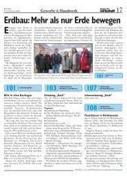 Erdbau: Mehr als nur Erde bewegen - Wirtschaftskammer Steiermark