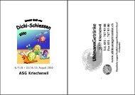 ASG Kriechenwil - ZKAV