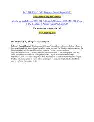 BUS 591 Week 5 DQ 2 Colgate s Annual Report.pdf