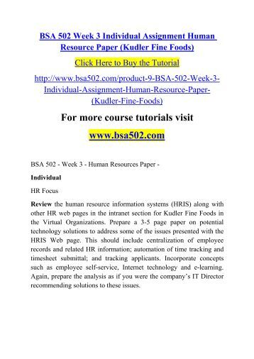kudler fine foods human resources Issues in human resource for kudler fine foods essays: over 180,000 issues in human resource for kudler fine foods essays, issues in human resource for kudler fine foods term papers, issues in human resource for kudler fine foods research paper, book reports 184 990 essays, term and research papers available for unlimited access.