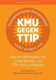 Warum 99 Prozent der Unternehmen von TTIP nicht profitieren