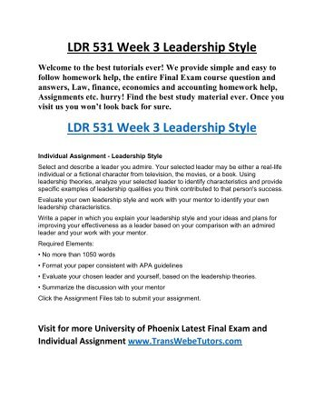 ldr 531 leadership strategy to regain Describe the role of leadership, management home ldr 531 week 6 learning team assignment failure analysis change strategy ldr 531 week 6 learning team assignment failure analysis change strategy $1699 add to cart.