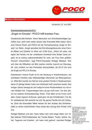 Pooth magazine for Poco reutlingen