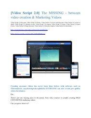 VideoScript 2.0  review and Exclusive $26,400 Bonus