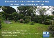 Single Building Plot - Ivybridge, Devon