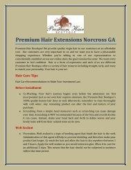 Premium Hair Extensions Norcross GA.pdf