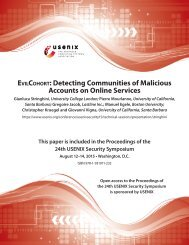 EvilCohort Detecting Communities of Malicious Accounts on Online Services