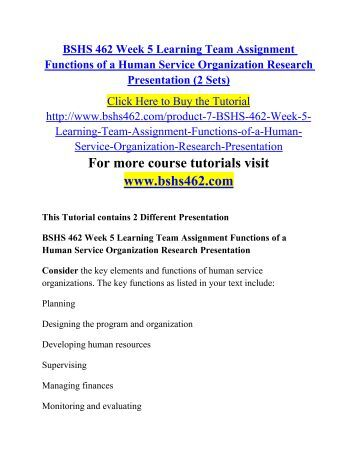 Human service research paper