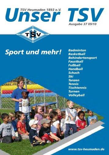 Turnen Ü18 Erwachsene - TSV Heumaden 1893 eV