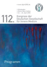 Deutsche Gesellschaft für Innere Medizin (DGIM)