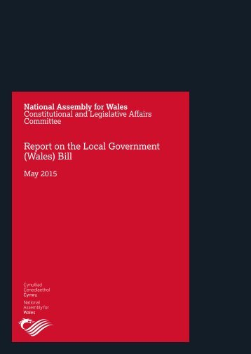 Report on the Local Government (Wales) Bill