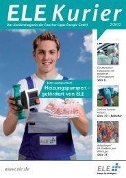 ELE Kurier 02/2012 - Emscher Lippe Energie GmbH