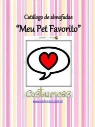 catálogo de almofadas -Meu Pet Favorito