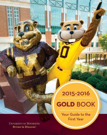 2015-2016 GOLD BOOK