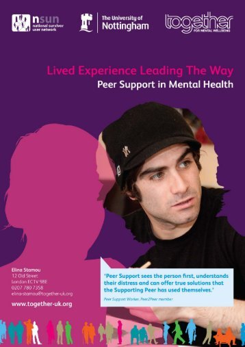 Lived Experience Leading The Way – Together © 1