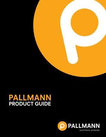 Pallmann Product Guide
