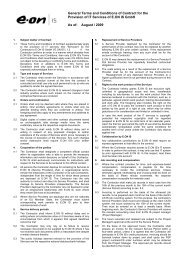 General Terms and Conditions of Contract for the Provision of IT ...