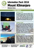 Mount Kilimanjaro - Page 7