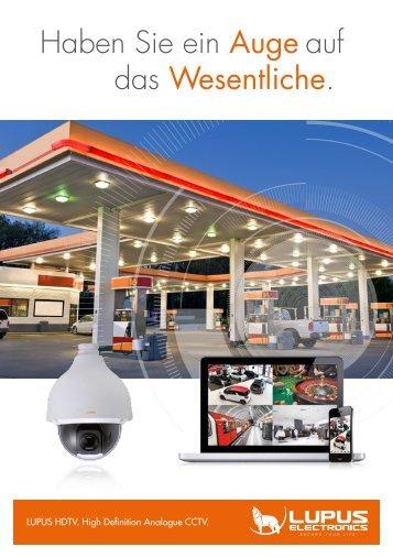 Lupus-Electronics - HDTV Werbebroschüre 2015