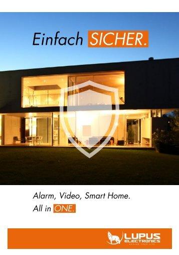 Lupus-Electronics - LUPUSEC Werbebroschüre 2015