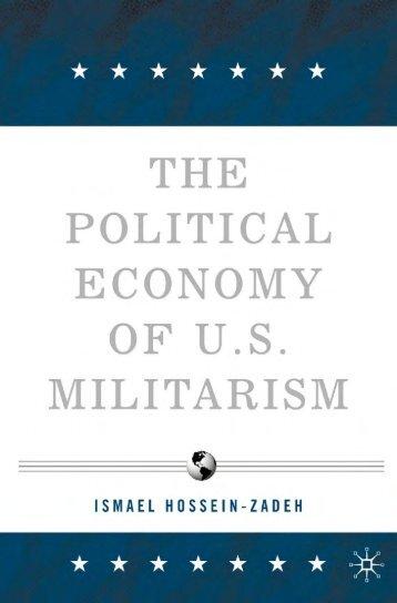 The Political Economy of U.S Militarism