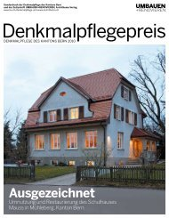 Denkmalpflegepreis 2010