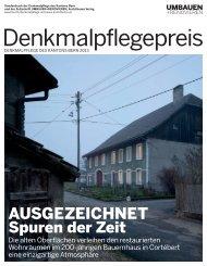 Denkmalpflegepreis 2013